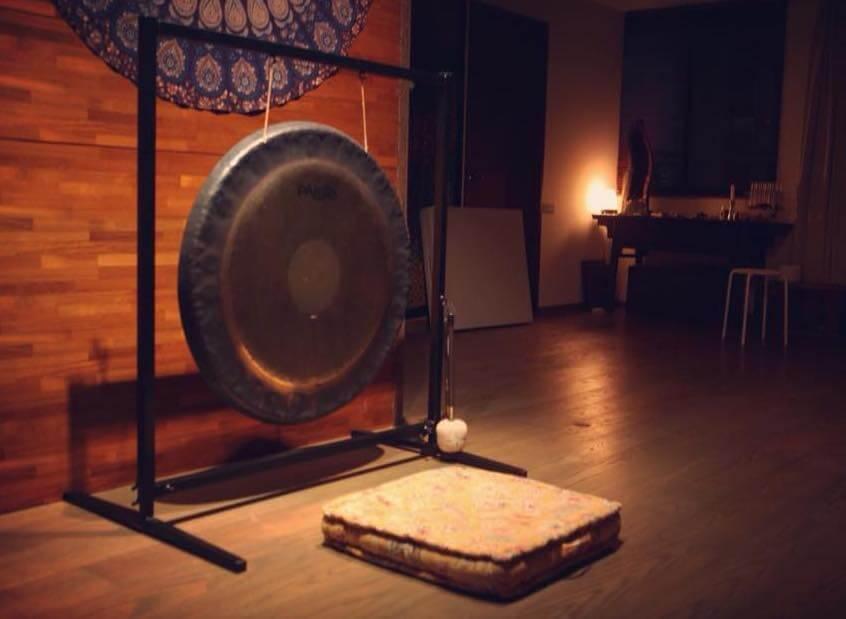 傳統銅鑼與現代超波導引的結合