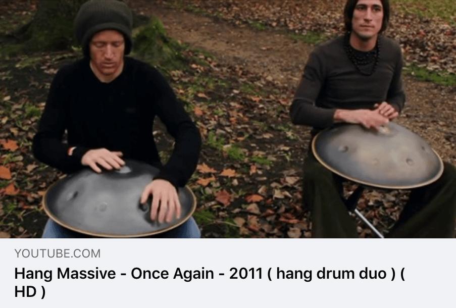 Hang Massive - Once Again - 2011 ( hang drum duo )