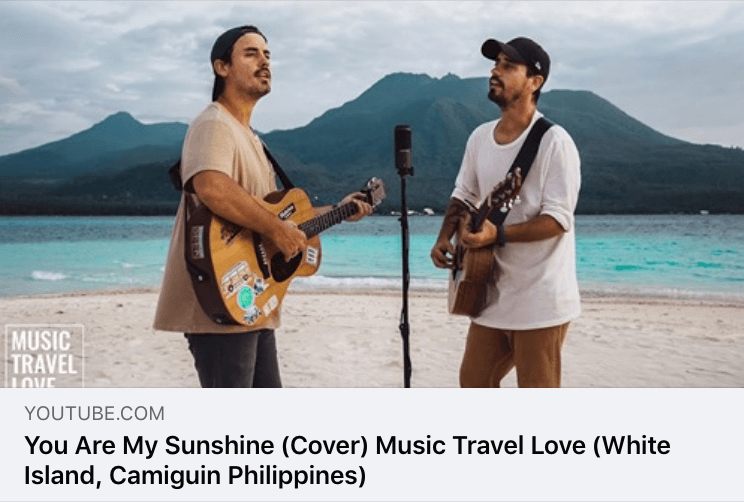 Music Travel Love -「 You Are My Sunshine 」